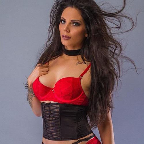 sexy vrouwelijke stripper