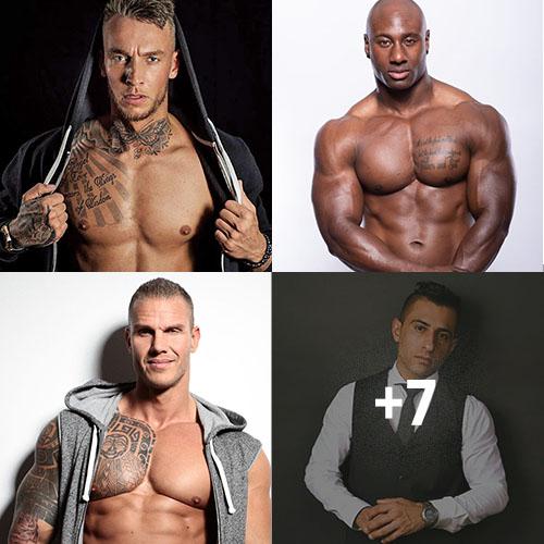 Mannelijke strippers 1